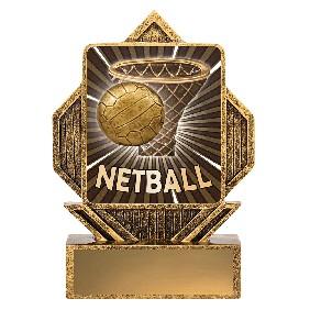 Netball Trophy LA037 - Trophy Land