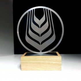 Custom Awards Gallery Laser-Cut Stainless Steel - Trophy Land