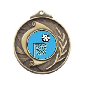 Netball Medal M101-K121 - Trophy Land