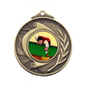Snooker Medal M101-K130 - Trophy Land