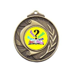 Trivia Medal M101-K132 - Trophy Land