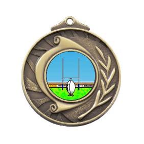 Rugby Medal M101-K137 - Trophy Land