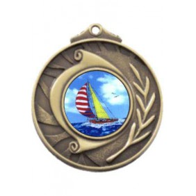 Sailing Medal M101-K147 - Trophy Land