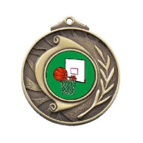 Basketball Medal M101-K26 - Trophy Land