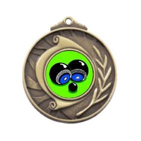 Lawn Bowls Medal M101-K30 - Trophy Land