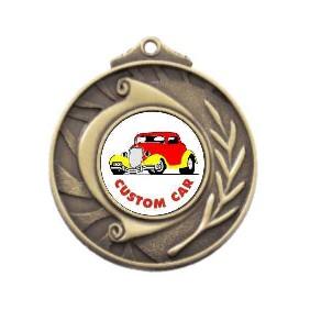 Motorsports Medal M101-K35 - Trophy Land