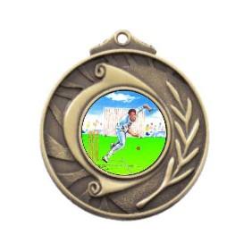 Cricket Medal M101-K49 - Trophy Land