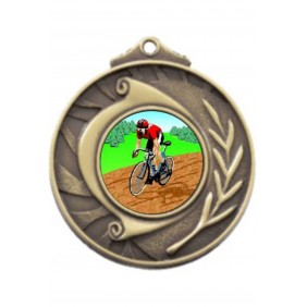 Cycling Medal M101-K55 - Trophy Land