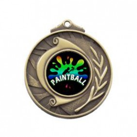 Paintball Medal M101-PAIN02 - Trophy Land