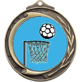Netball Medal M102-K121 - Trophy Land