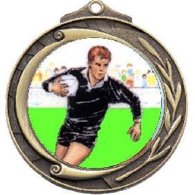 Rugby Medal M102-K138 - Trophy Land