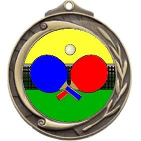 Ping Pong Medal M102-K169 - Trophy Land