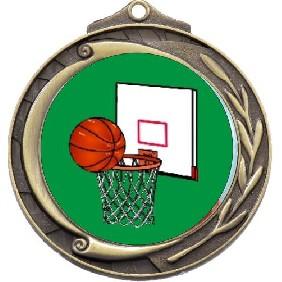 Basketball Medal M102-K26 - Trophy Land