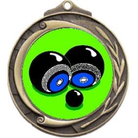 Lawn Bowls Medal M102-K30 - Trophy Land