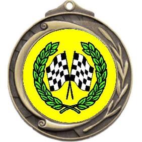 Motorsports Medal M102-K36 - Trophy Land