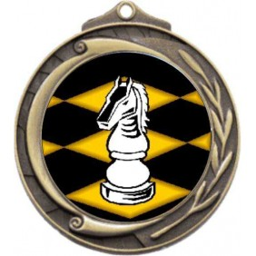 Chess Medal M102-K45 - Trophy Land