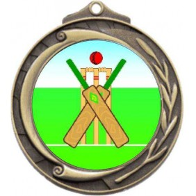 Cricket Medal M102-K50 - Trophy Land