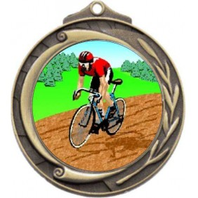 Cycling Medal M102-K55 - Trophy Land