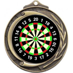 Darts Medal M102-K66 - Trophy Land
