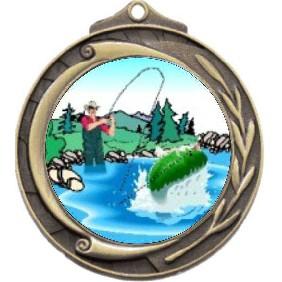 Fishing Medal M102-K76 - Trophy Land