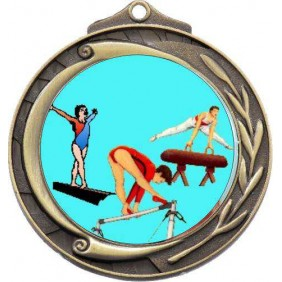Gymnastics Medal M102-K92 - Trophy Land