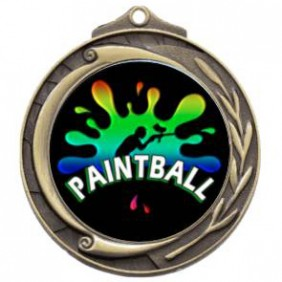 Paintball Medal M102-PAIN02 - Trophy Land