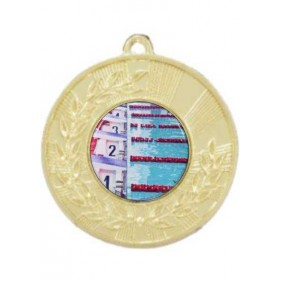 Swimming Medal M154-C201 - Trophy Land