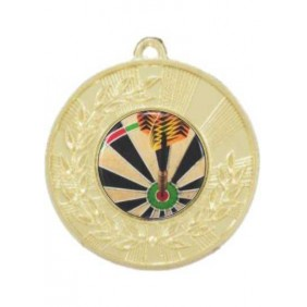 Darts Medal M154-C381 - Trophy Land