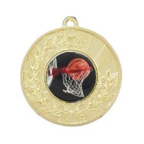 Basketball Medal M154-C601 - Trophy Land