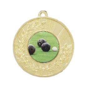Lawn Bowls Medal M154-C831 - Trophy Land