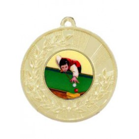 Snooker Medal M154-K130 - Trophy Land