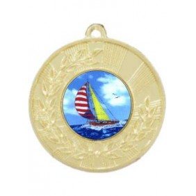 Sailing Medal M154-K147 - Trophy Land