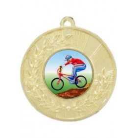 Cycling Medal M154-K54 - Trophy Land