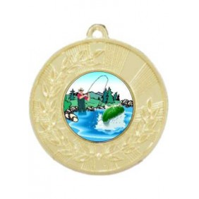Fishing Medal M154-K76 - Trophy Land