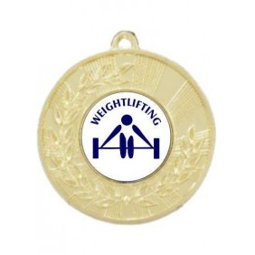Weightlifting Medal M154-TLWeight - Trophy Land