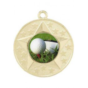 Golf Medal M156-C171 - Trophy Land