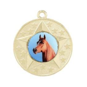 Horse Medal M156-C351 - Trophy Land