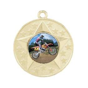 Motorsports Medal M156-K117 - Trophy Land