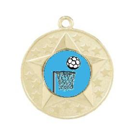 Netball Medal M156-K121 - Trophy Land