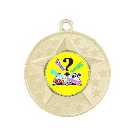 Trivia Medal M156-K132 - Trophy Land