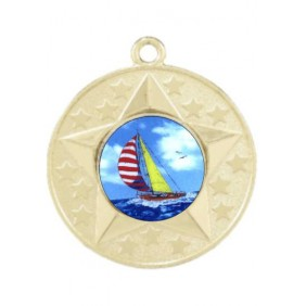 Sailing Medal M156-K147 - Trophy Land