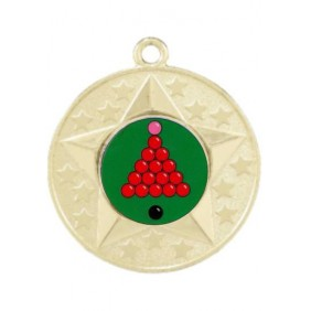 Snooker Medal M156-K158 - Trophy Land