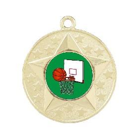 Basketball Medal M156-K26 - Trophy Land