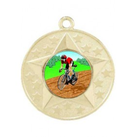 Cycling Medal M156-K55 - Trophy Land