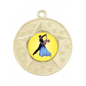 Dance Medal M156-K60 - Trophy Land