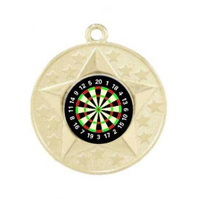 Darts Medal M156-K66 - Trophy Land