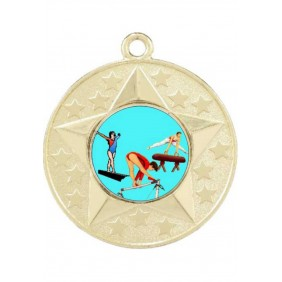 Gymnastics Medal M156-K92 - Trophy Land