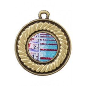 Swimming Medal M159-C201 - Trophy Land