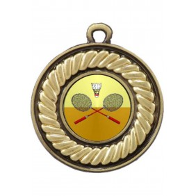 Badminton Medal M159-K23 - Trophy Land