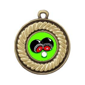 Lawn Bowls Medal M159-K31 - Trophy Land